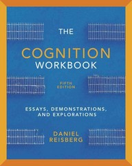 The Cognition Workbook 5th Edition 9780393919325 0393919323