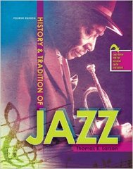 History and Tradition of Jazz 4th edition 9781465204912 1465204911