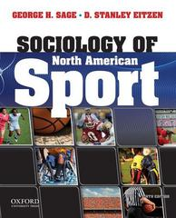 Sociology of North American Sport 9th Edition 9780199950836 0199950830