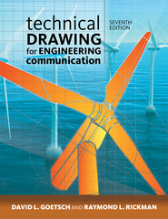 Technical Drawing for Engineering Communication 7th Edition 9781285173016 1285173015