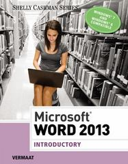 Microsoft Word 2013 1st Edition 9781285956374 1285956370