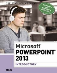 Microsoft PowerPoint 2013 1st Edition 9781285167862 1285167864