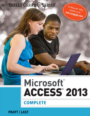 Microsoft Access 2013 1st Edition 9781285169071 1285169077