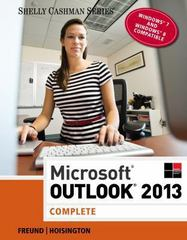Microsoft Outlook 2013 1st Edition 9781285168876 1285168879