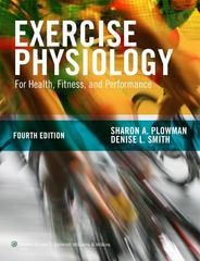 Exercise Physiology for Health Fitness and Performance 4th edition 9781451176117 1451176112