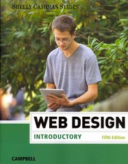 Web Design Introductory 5th Edition 9781285170626 1285170628