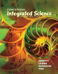Conceptual Integrated Science 2nd edition 9780321818508 0321818504