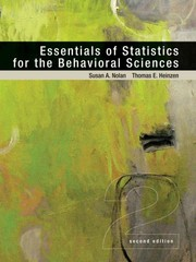 Essentials of Statistics for the Behavioral Sciences 2nd edition 9781429242271 1429242272