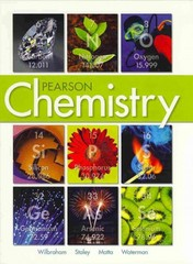 Pearson Chemistry 1st Edition 9780132525763 0132525763