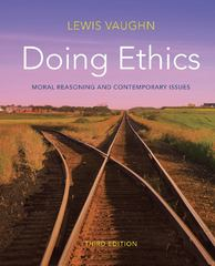 Doing Ethics 3rd Edition 9780393919288 0393919285