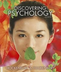 Discovering Psychology 6th Edition 9781464102417 1464102414