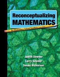 Reconceptualizing Mathematics 1st edition 9781464103353 1464103356