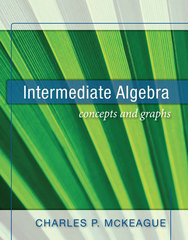 Intermediate Algebra 0th edition 9781936368006 1936368005