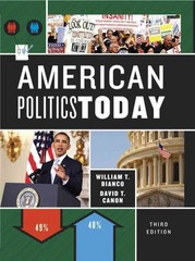 American Politics Today 3rd Edition 9780393913262 0393913260