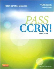 PASS CCRN! 4th Edition 9780323077262 0323077269