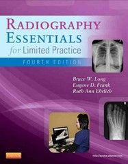 Radiography Essentials for Limited Practice 4th Edition 9781455740772 1455740772