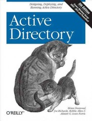 Active Directory 5th Edition 9781449320010 1449320015