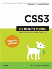 CSS3: the Missing Manual 3rd Edition 9781449325947 1449325947