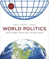 World Politics 2nd Edition 9780393912388 0393912388