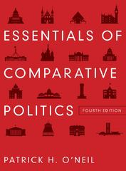Essentials of Comparative Politics 4th Edition 9780393912784 0393912787