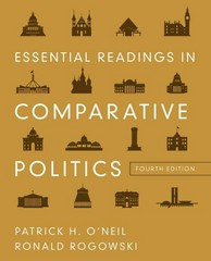 Essential Readings in Comparative Politics 4th Edition 9780393912807 0393912809