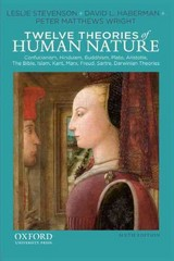 Twelve Theories of Human Nature 6th Edition 9780199859030 0199859035