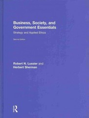 Business, Society, and Government Essentials 2nd Edition 9781136257629 1136257624
