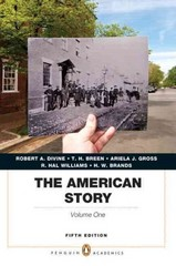 The American Story 5th edition 9780205907366 0205907369