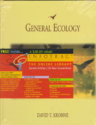 General Ecology (with InfoTrac) 1st edition 9780534260156 0534260152