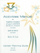 Stdt Activ-Taking Charge/Job Srch, Bk II 4th edition 9780534356163 0534356168