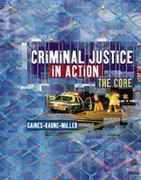 Criminal Justice in Action 0 9780534574635 0534574637