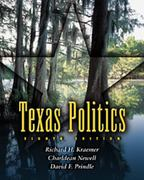 Texas Politics (Non-InfoTrac Version) 8th edition 9780534586485 0534586481