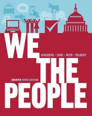 We the People 9th edition 9780393921090 0393921093