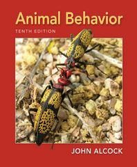 Animal Behavior 10th Edition 9780878939664 0878939660