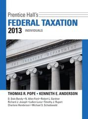 Prentice Hall's Federal Taxation 2013 Individuals Plus NEW MyAccountingLab with Pearson eText -- Access Card Package 26th edition 9780133040678 0133040674