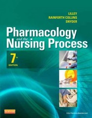 Pharmacology and the Nursing Process 7th Edition 9780323087896 0323087892