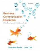 Business Communication Essentials Plus New MyBCommLab with Pearson eText -- Access Card Package 5th edition 9780132658720 0132658720