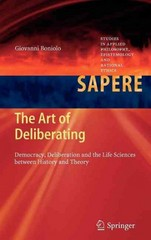 The Art of Deliberating 1st edition 9783642319549 3642319548