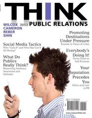 THINK Public Relations 2nd Edition 9780205857258 0205857256