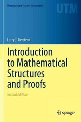 Introduction to Mathematical Structures and Proofs 2nd Edition 9781461442646 1461442648