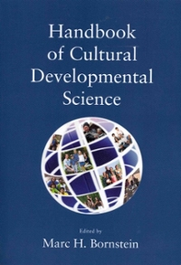 Handbook of Cultural Developmental Science 1st Edition 9780415648196 041564819X