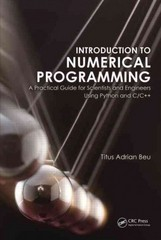Introduction to Numerical Programming 1st Edition 9781466569676 1466569670
