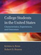 College Students in the United States 1st Edition 9780470947203 0470947209
