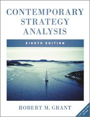 Contemporary Strategy Analysis 8th Edition 9781119941897 111994189X