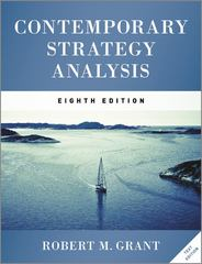 Contemporary Strategy Analysis Text Only 8th Edition 9781119941880 1119941881