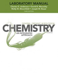 Laboratory Experiments to Accompany General, Organic and Biological Chemistry 3rd Edition 9781118424261 1118424263