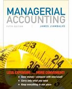 Managerial Accounting, Binder-Ready Version 5th Edition 9781118078778 1118078772