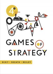 Games of Strategy 4th Edition 9780393919684 0393919684