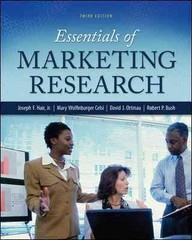 Essentials of Marketing Research 3rd Edition 9780078028816 0078028817