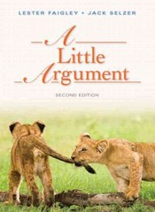 A Little Argument 2nd Edition 9780321852762 0321852761